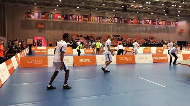 Le double français brille lors de la Coupe du monde de Teqball