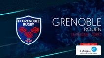 Grenoble - Rouen : le résumé vidéo