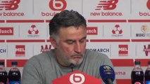 """17e j. - Galtier : """"La priorité c'est Montpellier, pas Chelsea"""""""