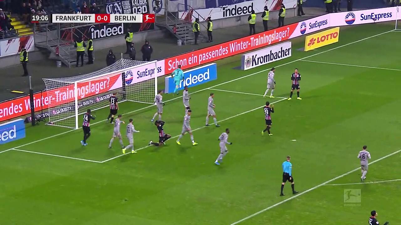 Eintracht Frankfurt - Hertha Berlin (2-2) - Maç Özeti - Bundesliga 2019/20