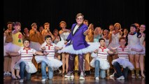 Elton John adds another flamboyant outfit to collection as he proudly rocks tutu on stage