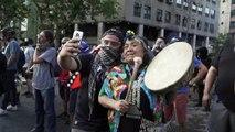 تظاهرات وأعمال عنف في تشيلي في اليوم الخمسين من الأزمة الاجتماعية