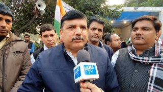AAP MP Sanjay Singh speaks on Hyderabad encounter and Unnao incident