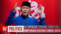 Zahid: Umno will take Putrajaya only through the 'front door'