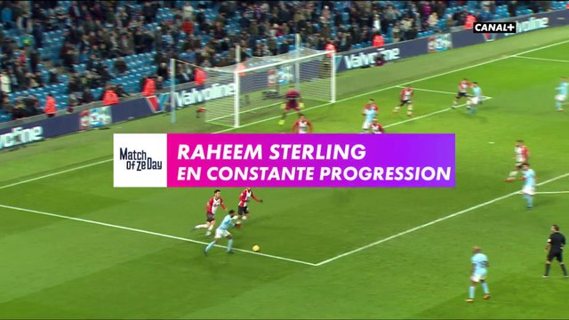 Raheem Sterling : En constante progression