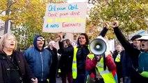 Avignon : les manifestants arrivent place Pie