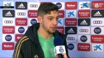 """Valverde: """"Zidane nos pide que lleguemos a portería y hoy lo hemos conseguido"""""""