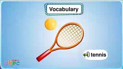 สื่อการเรียนการสอน คำศัพท์ภาษาอังกฤษ   กีฬา ป.2 ภาษาอังกฤษ