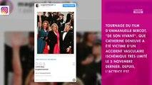 Catherine Deneuve victime d'un AVC : Benoît Magimel donne des nouvelles sur la santé de l'actrice
