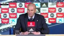 """Zidane: """"No le exijo el gol a Vinicius, llegará con la confianza"""""""