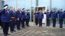 Inauguration d'un mur de la mémoire pour les 27 policiers décédés en service depuis 2001