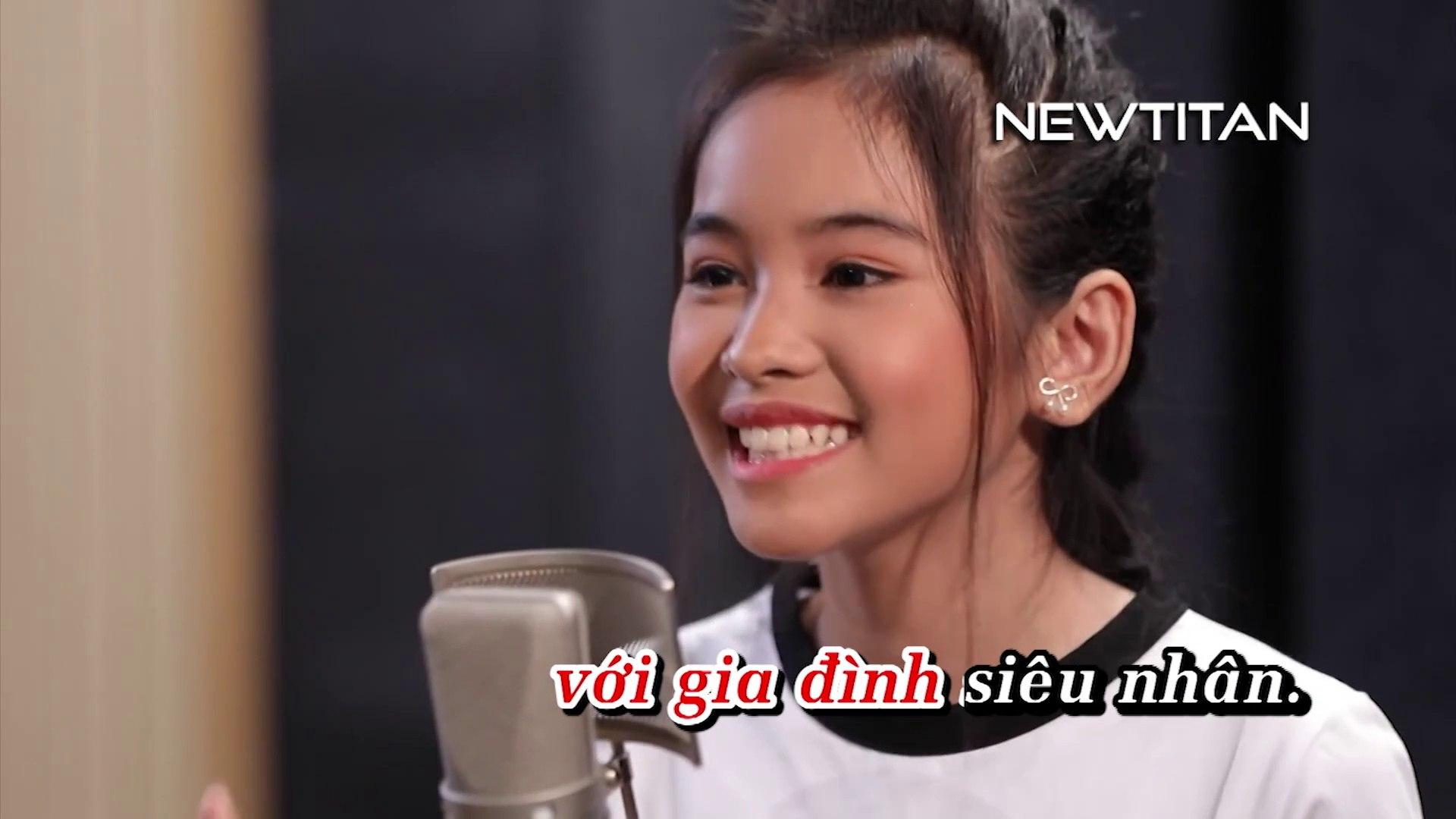 [Karaoke] Chiến Binh Xanh - Yến Nhi (The Voice Kid), Lou Hoàng [Beat]