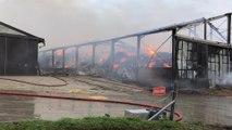 Un important incendie dans une ferme agricole à Cour-sur-Heure