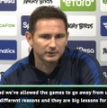 Lampard not looking at January transfers despite Chelsea loss