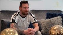 Messi «Quand Cristiano a égalisé, ça m'a fait un peu mal» - Foot - Ballon d'Or 2019