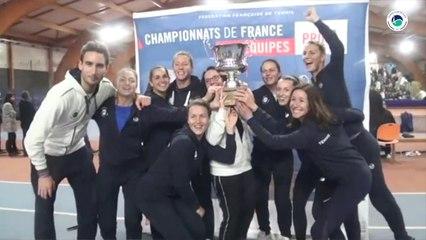 FFT - Interclubs Pro A 2019 - Le bonheur du 7e titre des Filles du Tennis Club de Paris - #GoTCP