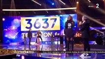 Malaise avec Aya Nakamura au Téléthon