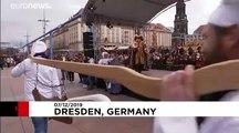 3,9 Tonnen Stollen in Dresden aufgetischt