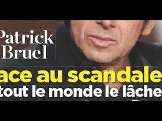 Patrick Bruel, radioactif, image brouillée, le geste de Michel Drucker