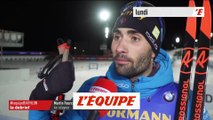 Fourcade «Le bilan de ces quatre courses est très bon» - Biathlon - CM (H)