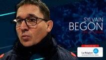 Sylvain Begon : « On aurait aimé que la deuxième mi-temps soit meilleure »
