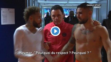 Petite altercation entre Delort et Neymar dans les couloirs