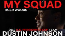 Captain Tiger Woods Dishes on 2019 U.S. Presidents Cup Team Player Dustin Johnson