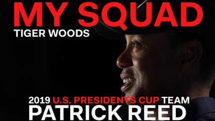 Captain Tiger Woods Dishes on 2019 U.S. Presidents Cup Team Player Patrick Reed