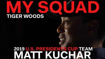Captain Tiger Woods Dishes on 2019 U.S. Presidents Cup Team Player Matt Kuchar