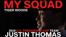 Captain Tiger Woods Dishes on 2019 U.S. Presidents Cup Team Player Justin Thomas