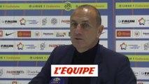 Der Zakarian «On défend mal» - Foot - L1 - Montpellier