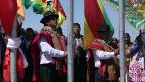 """Los Ponchos Rojos, la milicia aymara que se planta como """"retaguardia"""" de Bolivia"""