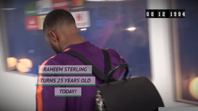 Born This Day - Raheem Sterling is 25