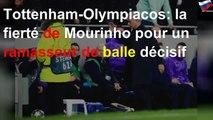 Tottenham-Olympiacos: la fierté de Mourinho pour un ramasseur de balle décisif