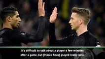 Favre hails importance of captain Reus