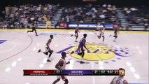 Devontae Cacok Posts 14 points & 15 rebounds vs. Memphis Hustle