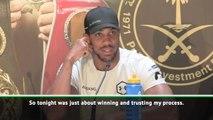 Joshua defends defensive tactics against Ruiz
