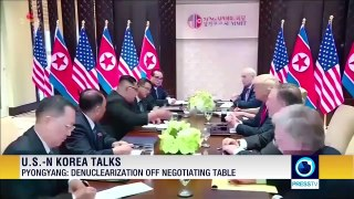 Trump: I will be surprised if N Korea acts hostilely