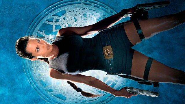 Lara Croft Tomb Raider movie (2001) Angelina Jolie, Jon Voight, Iain Glen