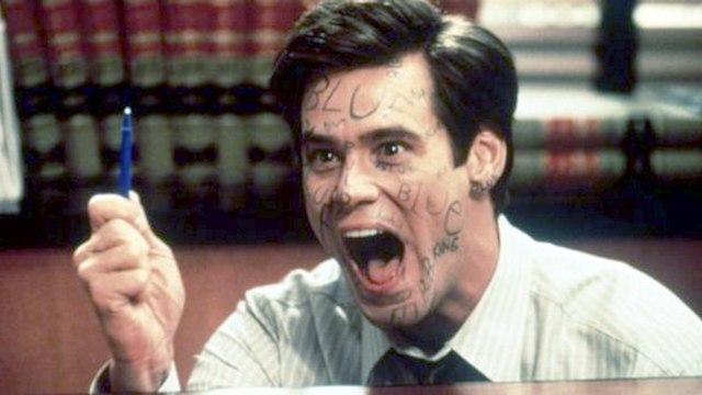 Liar Liar Movie (1997) Jim Carrey Maura Tierney Justin Cooper