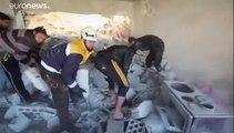 Syrie : raids aériens meurtriers sur Idleb