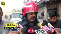 At Least 43 Dead in Fire at Delhi's Anaj Mandi, Kejriwal Announces Rs 10 Lakh Ex-Gratia