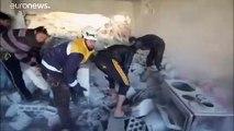 Al menos 20 muertos en un bombardeo del Ejército sirio y sus aliados en Idlib