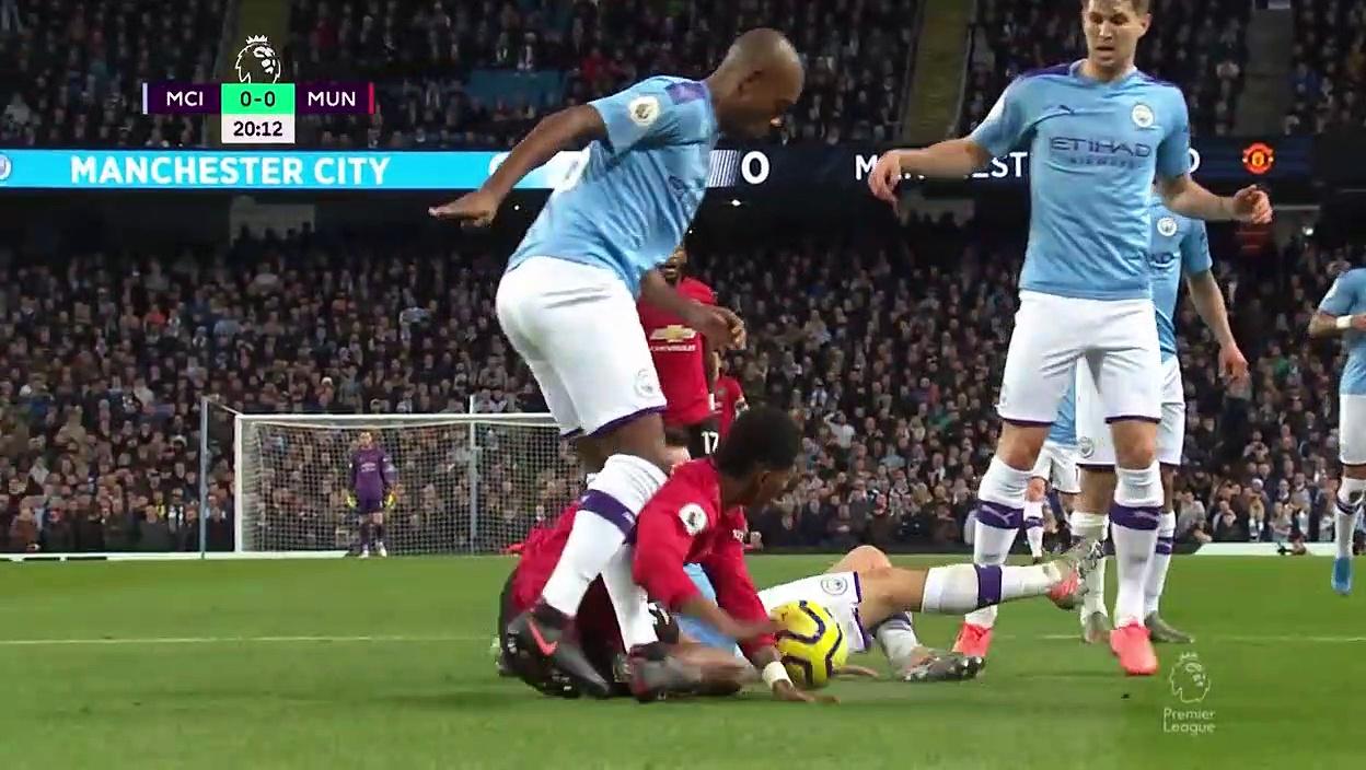 Manchester City - Manchester United (1-2) - Maç Özeti - Premier League 2019/20