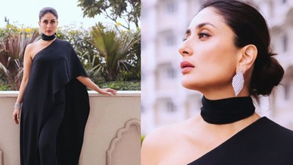 Kareena Kapoor Looks Gorgeous in Black Dress with Akshay Kumar   Boldsky