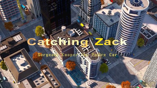 Catching Zack the Race Car