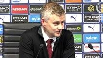 Football - Ole Gunnar Solskjaer Post Match Press Conference, Man City 1-2 Man Utd