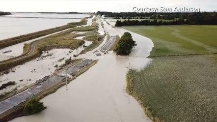 New Zealand's South Island braces for wild weather