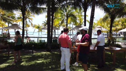 Beachcomber Golf Cup 2019 : Arrivée