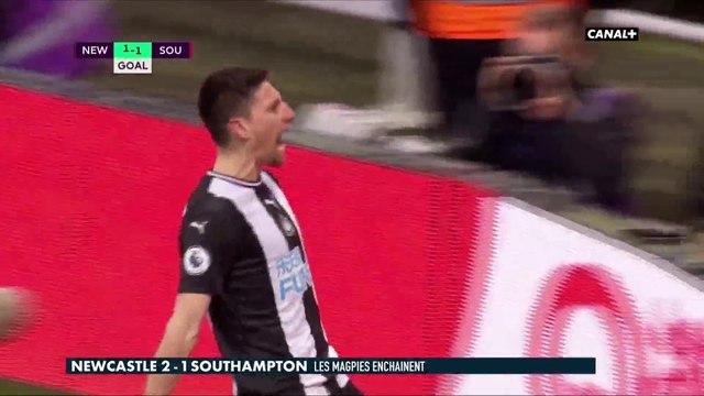 Le résumé de Newcastle - Southampton